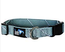 Flat Braided Collar Medium Dog Adjustable Turquoise 5280DOG