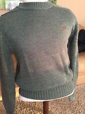 Izod Lacoste Vintage Mens Pullover Sweater Sz S Moss Green NWOT Alligator