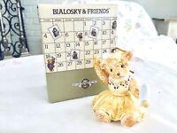 Bialosky & Friends Ceramic Bear Ornament ANNIE Made in Japan