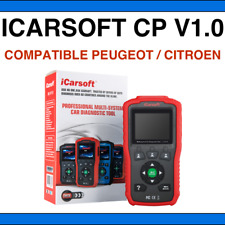 ✅ SCANNER ICARSOFT CP V1.0 - Compatible Peugeot & Citroën DIAGBOX LEXIA PP2000