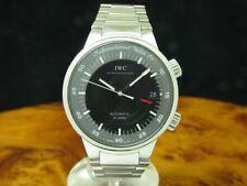 IWC GST Alarm Edelstahl Automatic Herrenuhr / Ref 3537 / Kaliber 1.917