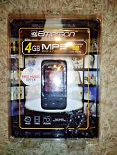 "Emerson EMP414-4 4GB MP3 Music & Video Player 1.8"" Color Display ***BRAND NEW***"