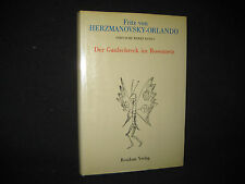 Fritz von Herzmanovsky-Orlando , Der Graulschreck im Rosennetz , Residenz Verlag