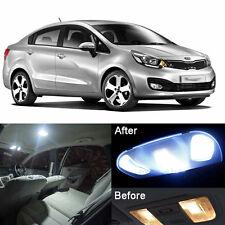 LED Xenon White Lamps Interior Light Kit For Kia Rio / Pride 2012-2015 (7pcs)