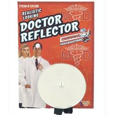 Dr. Doctor Nurse Reflector Headpiece Headband Halloween Costume Accessory