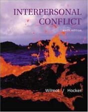Interpersonal Conflict ( Wilmot, William W. ) Used - VeryGood