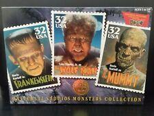 Universal Studios monster collection series Frankenstein, Wolfman, Mummy