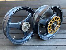"""DYMAG TT3 17"""" HONDA CBR 600 F4i Front 3.5 & Rear 5.5 Wheels Race Track F4 Sport"""