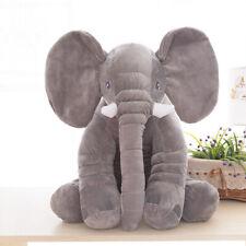 "Pillow 24""Large Big Soft Plush Stuffed Elephant Animal Toy Teddy Bear kids Play"