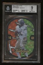 2012 Fleer Retro JAMBALAYA Die-Cut #1 Robert Griffin III RC! BGS 9 MINT! Heisman