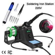 60W Rework Soldering Iron Station Kit Adjustable Temperature SMD Digital Solder