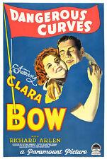 Dangerous Curves - 1929 - Clara Bow Richard Arlen Mendes Pre-Code Film DVD