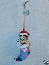 Betty Boop and Pudgy Stocking Ornament Westland Giftware #20143 Resin
