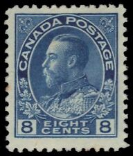 "CANADA 115 - King George V ""Admiral: Blue Dry Printing"" (pa18756) $60"