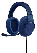 Logitech 981-000681 G433 7.1 Wired Surround Gaming Headset - Stereo - Blue