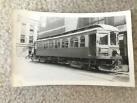 Lake Shore Electric Railway Cleveland OH Streetcar Trolley 150 Vintage Photo
