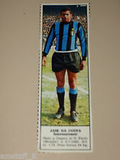*+ JAIR DA COSTA INTER=FIGURINA=1966/67=ALBUM FIGURINE CALCIATORI TEMPO