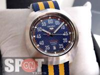 Seiko 5 Sports Nylon Strap Limited Edition Men's Watch SRPA91K1