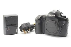 Canon EOS 5D Classic 12.8MP Digital SLR Camera - Black - With Charger & Battery