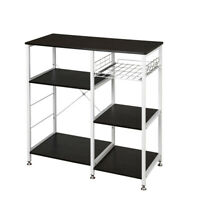 3-Tier Kitchen Shelf Baker's Rack Utility Microwave Oven Stand Storage Cart New