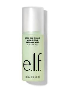 ELF Stay All Night Setting Mist 80ml - Long-Wear Micro Fine Fixing Spray E.L.F.