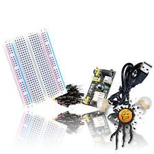 Arduino DIY Breadboard 400 5V Spannungsversorgung MB102 Netzteil 30 Jumperkabel