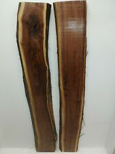 Black Walnut Slabs (Live Edge) River Table Set (thick set)