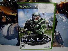 Halo: Combat Evolved (Microsoft Xbox, 2001) Good Condition!
