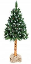 CHRISTMAS TREE ARTIFICIAL ON TRUNK  7 FT BIG LUXURY BEAUTIFUL NEW