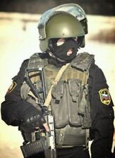 Russian army CHECHEN CSN FSB SPETSNAZ COMBAT BLACK GORKA Suit uniform ALL SIZES