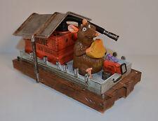 """6"""" Emile the Rat on Escape Raft PVC Plastic Action Figure Disney Ratatouille"""