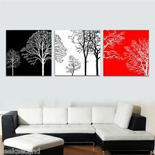"""Set of three Paint by Number 20*20"""" DIY Painting Lucky Tree PBN JC17002"""