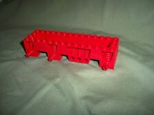 LEGO Large RED Vehicle Car Train Truck Tralior Base Chassis 4 Dot x 14 Dot