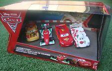Disney Cars 2 Miguel Camino Shu Todoroki Francesco McQueen Diecast 4 Pack VHTF