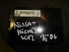 NISSAN MICRA III 3 k12 1,2 16v 59kw 03-10 CENTRALINA 284b2bc520 solo 25 t/km!!!