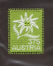 Scott # 2019 Austria Embroidered Edelweiss Self-Adhesive Mnh Single Stamp