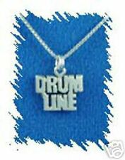Sterling Silver Drum Line Charm