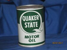 quaker state oil can sae 30 vintage