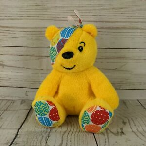 BBC Children In Need Pudsey Bear Soft Toy Approx 7 Inches tall