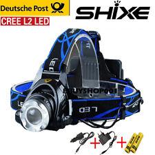 Batterie Superhelle 7Modes Garberiel 11x T6 LED 18650 USB Aufladbare Stirnlampe