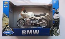 WELLY BMW R 1100 RS 1:18 DIE CAST MODEL NEW IN BOX LICENSED MOTORCYCLE