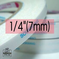 "*30R WHOLESALE* 7mm(1/4"") x 27yd Scor-Tape SooKwang Double sided Adhesive tape"