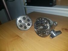 Vintage RARE Speakman Anystream Shower Head Brass Chrome Hotel Commercial LOTS
