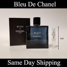 Bleu De Chanel - 5ml - Authentic Sample Travel Spray Atomizer EDT
