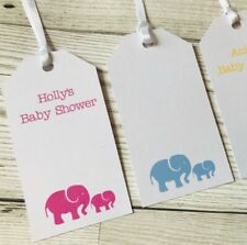 Personalised baby shower gift tags pack of 12