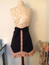 New Forever 21 Twelve By Twelve Women Black & Pink Ruffle Skirt Sz S