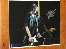 """RED HOT CHILI PEPPERS - JOSH KLINGHOFFER - SIGNED 8"""" X 10"""" COLOUR PHOTO"""