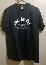 Jake McVey t-shirt Unknown Highway Iowa IA country singer black L 100% cotton