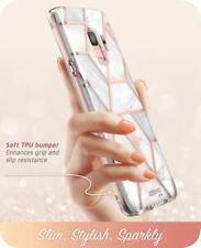 For Samsung Galaxy S9, Genuine i-Blason Cosmo Glitter Case Bumper Cover + Screen