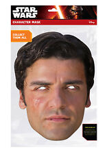 Poe Dameron Official Star Wars The Force Awakens Single 2D Card Party Face Mask